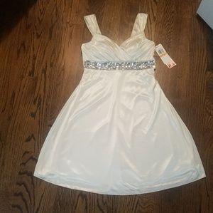 Satin Sparkel Dress